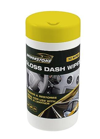 Brookstone - 30 x coche salpicadero salpicadero de limpieza Toallitas: Amazon.es: Hogar