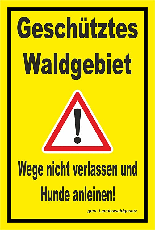 Melis Folienwerkstatt Etiqueta Cartel - Registered Bosque ...