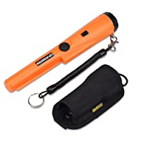 PiscatorZone Metal Detector Portable Handheld GP-Pointer Treasure Finder with High Sensitivity for Locating Gold, Coin,Silver,Jewelry  (ORANGE)