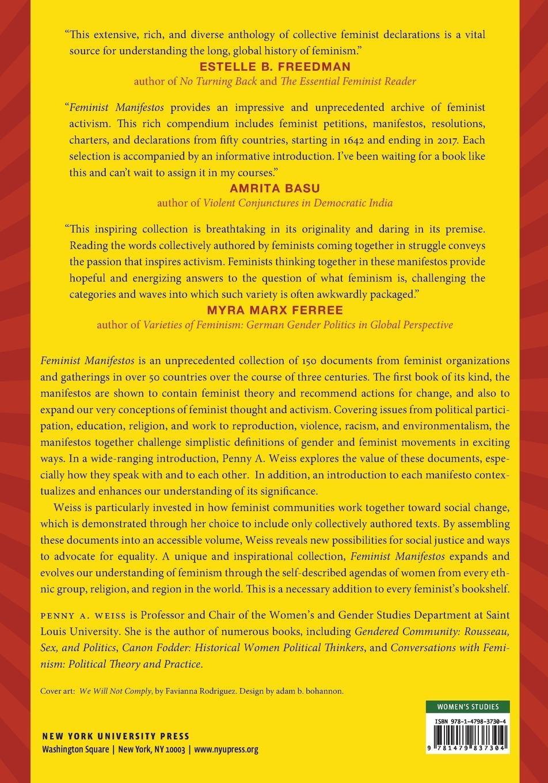 Feminist Manifestos: A Global Documentary Reader: Penny A