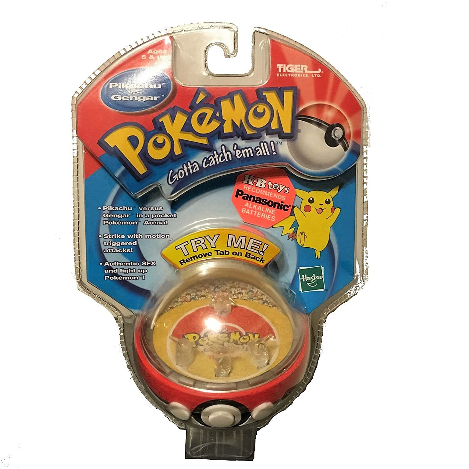 [タイガーエレクトロニクス]Tiger Electronics Pokemon Pocket Arena Eletronic Game Pikachu Vs Gengar LYSB01MDMXQRT-TOYS [並行輸入品] B01MDMXQRT