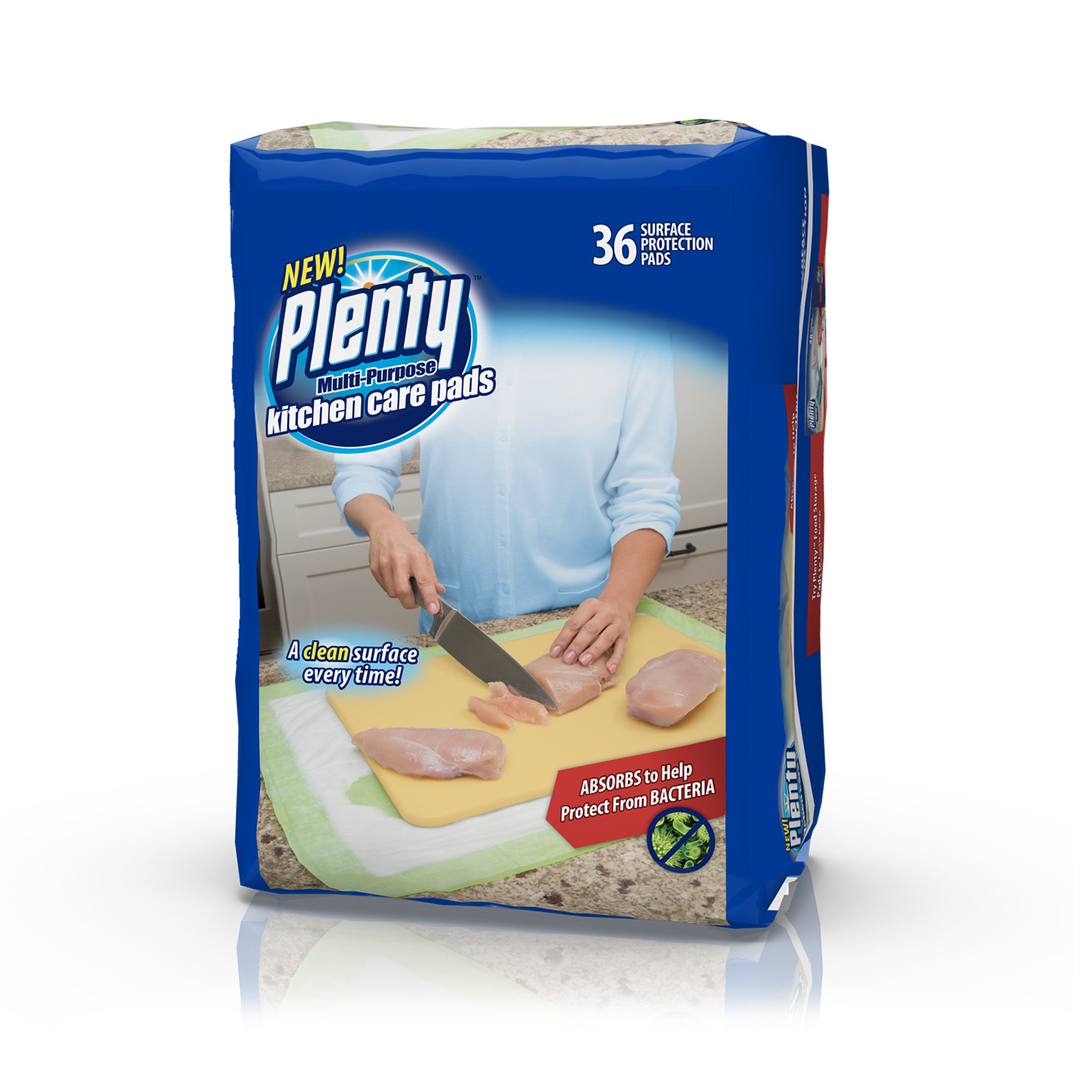 Plenty Multipurpose Kitchen Care Pads, 36 Count