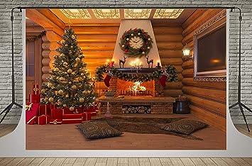 Kate 7x5ft Christmas Backdrop Christmas Tree Photography Backdrop Christmas House Background