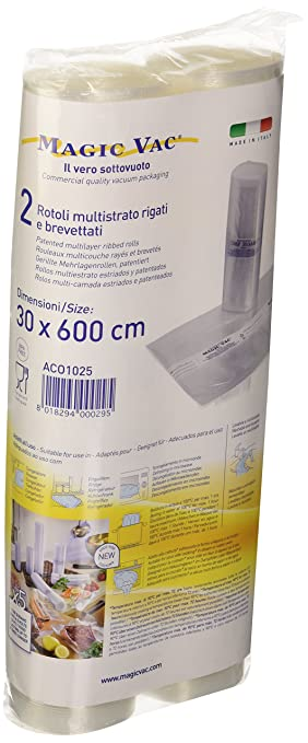 Magic Vac ACO1036 - Pack de 50 bolsas, 30 x 40 cm