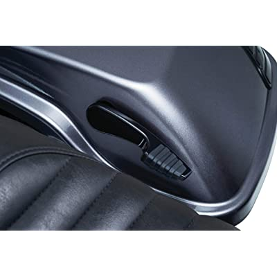 Kuryakyn 5193 Motorcycle Accent Accessory: Quick Draw Saddlebag Latch Handles for 2014-2020 Harley-Davidson Motorcycles, Gloss Black, 1 Pair: Automotive