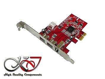 KALEA-INFORMATIQUE-Tarjeta controladora PCIe FIREWIRE 800 y 400 (Ieee1394a) (ieee3194b) chipset TI XIO2213 - 2 serie 1 puertos PCI, PCIe profesional y ...
