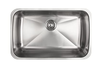 Kindred kss5ua9d single bowl stainless steel undermount 9 inch deep kindred kss5ua9d single bowl stainless steel undermount 9 inch deep kitchen sink workwithnaturefo