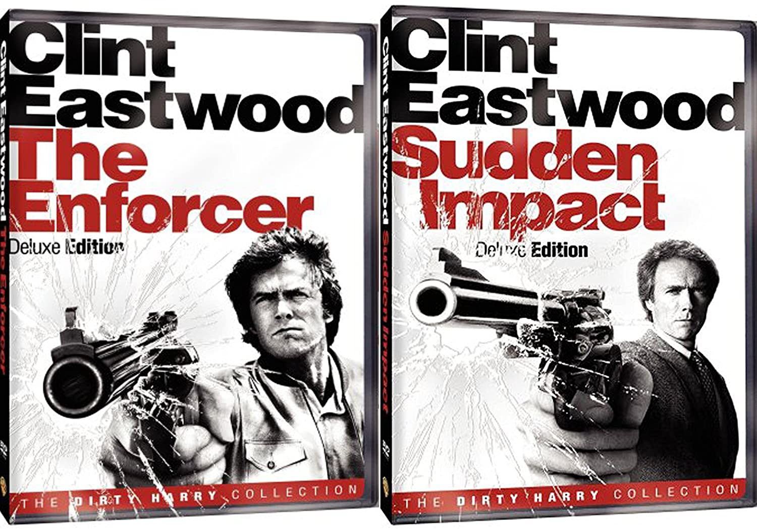 Amazon Com Sudden Impact Deluxe Edition The Enforcer Dvd Dirty Harry Crime Action Pack 2 Movie Set Clint Eastwood Double Feature Movies Tv