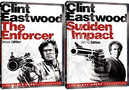 Sudden Impact Deluxe Edition & The Enforcer DVD Dirty Harry Crime ...