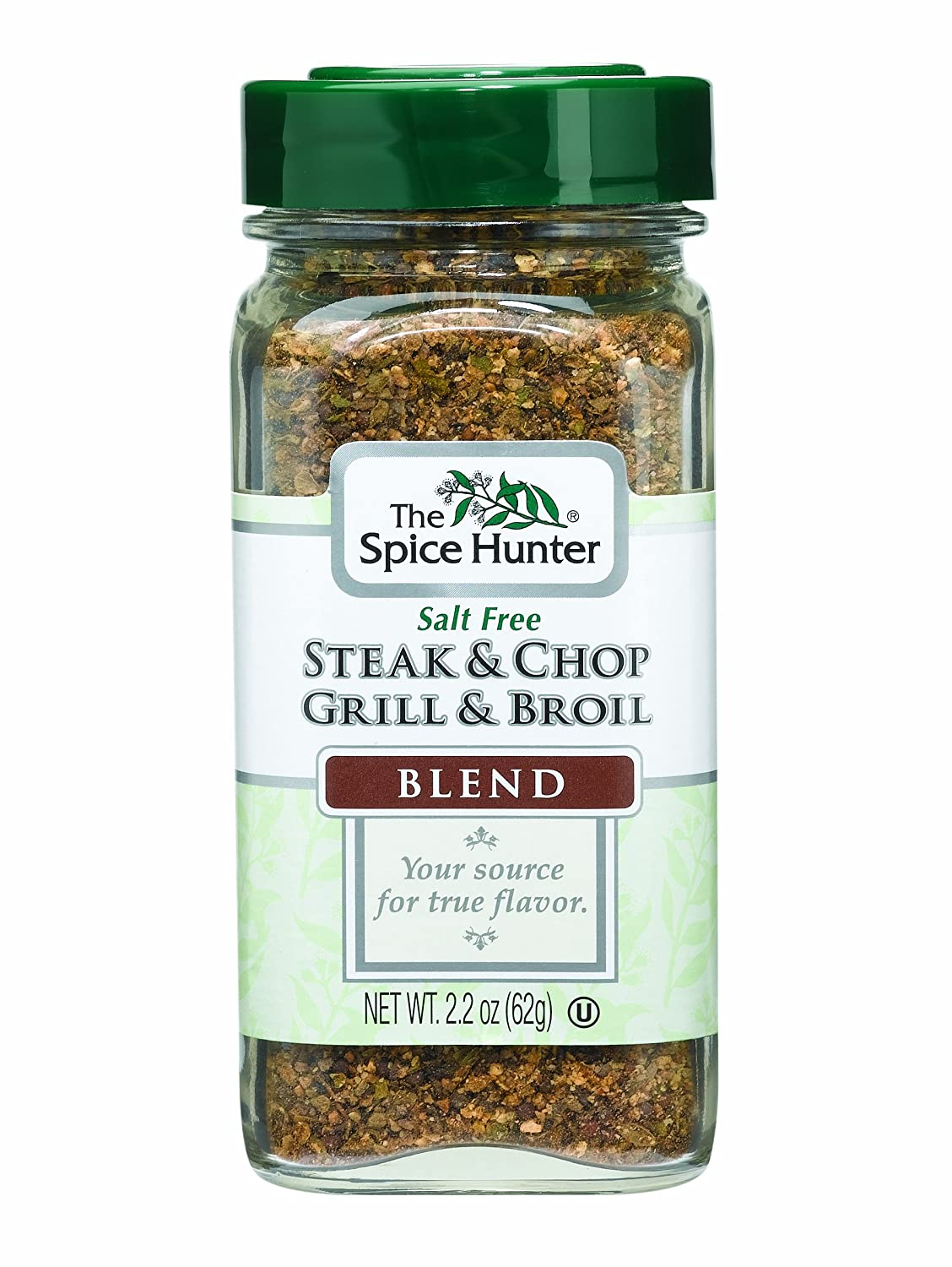 The Spice Hunter Steak & Chop Grill & Broil Blend, 2.2-Ounce Jars (Pack of 6)