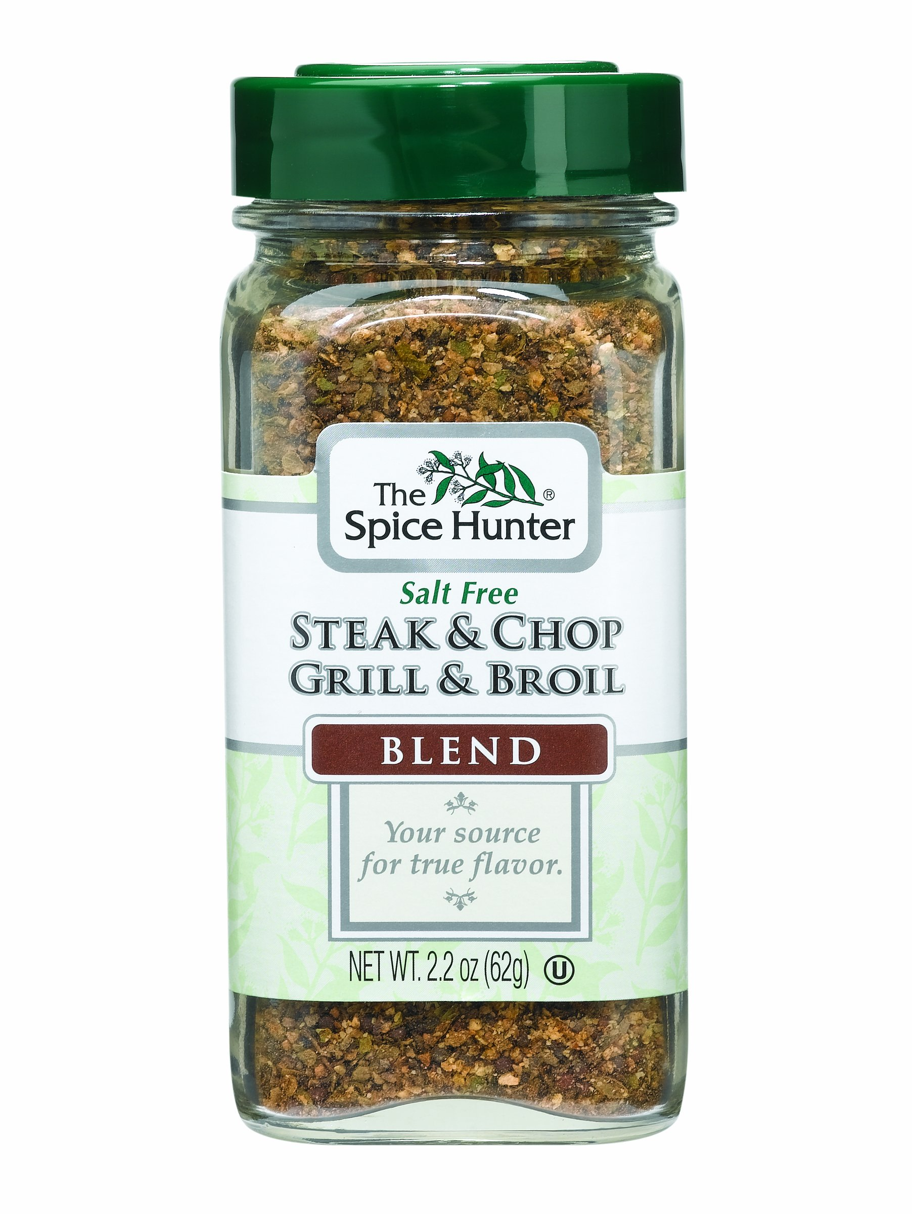 The Spice Hunter Steak & Chop Grill & Broil Blend, 2.2-Ounce Jar