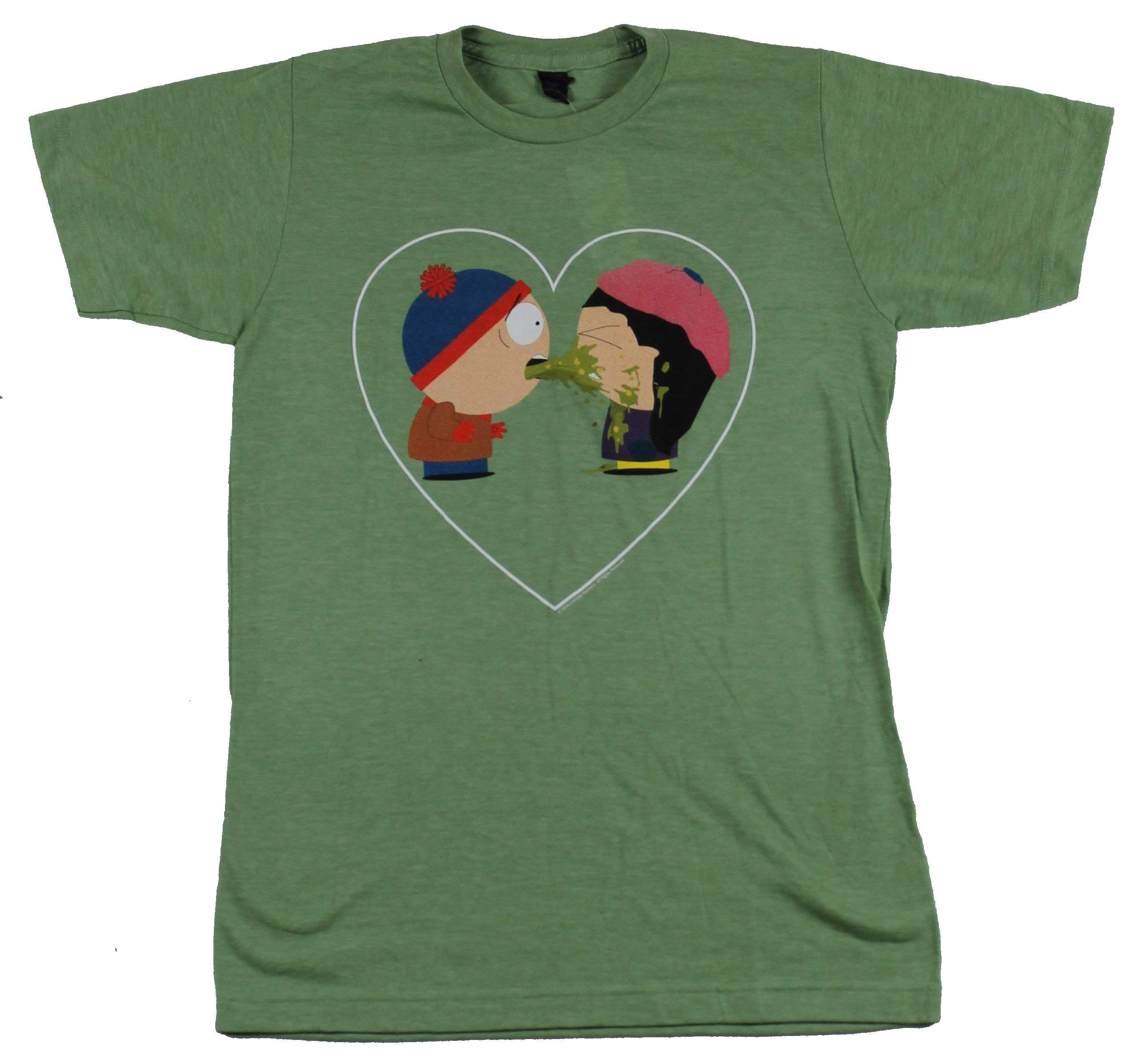 South Park S T Shirt Love Sick Kyle Wendy In Heart Image 9877
