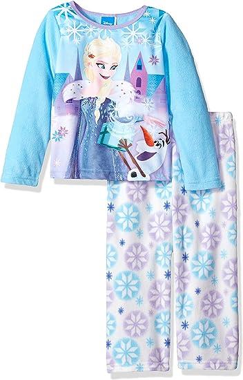 Disney Big Girls FROZEN Two-Piece Pajama Set