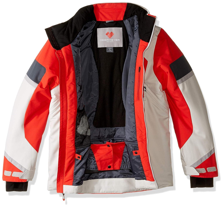 Obermeyer Kids Boys Outland Jacket Little Kids//Big Kids Red Small