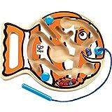 Hape Go-Fish-Go Magnetic Wooden Toddler Maze Puzzle