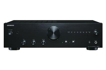 Onkyo A-9010 - Amplificador esterero integrado (44 W por canal, 5 entradas analógicas y 1 salida, 2 entradas digitales) color negro