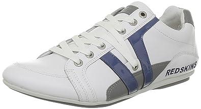 Redskins Arene, Baskets mode homme - Blanc (Blanc/Bleu/Gris),