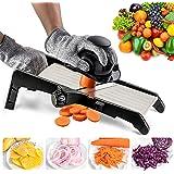 Mandoline Slicer for Food and Vegetables -VEKAYA Adjustable Kitchen Vegetable Slicer For Potatoes and Onion  French Fry Slice