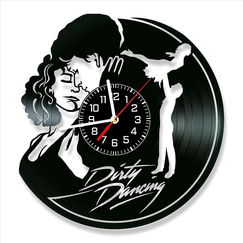 Dirty Dancing Vinyl Clock, Dirty Dancing Wall Clock 12 inch (30 cm), Original Gifts, The Best Home Decorations, Unique Art Decor, Original Idea for Home Decor
