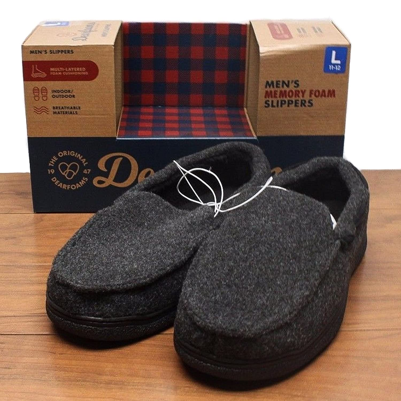 Dearfoam Dearfoam Dearfoam Men's Memory Foam Slippers B01L2I1V74 Slippers 462b3f
