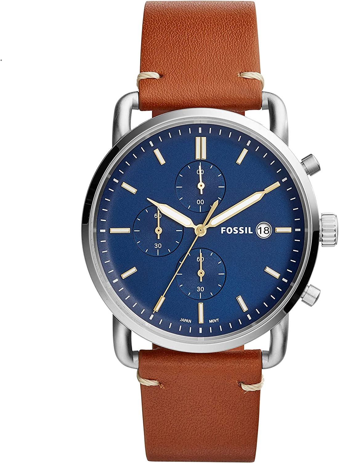 Fossil Mens The Commuter Chrono – FS5401