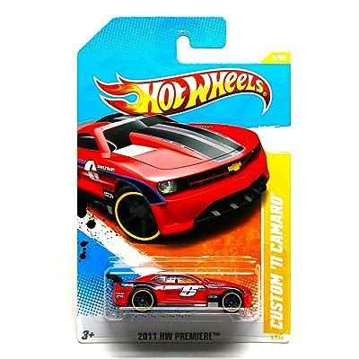 Hot Wheels 2011 5/244 - New Models - Custom '11 Camaro: Toys & Games