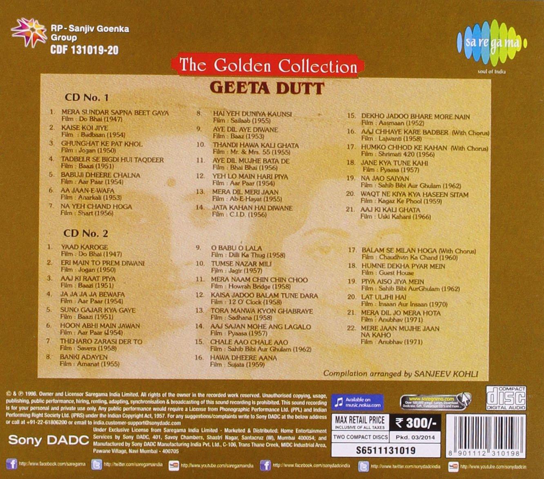 Golden Collection - Geeta Dutta