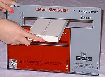 SHL - grande carta caja de correo DL 218 X 107 X 19 mm (interior) (X100): Amazon.es: Oficina y papelería