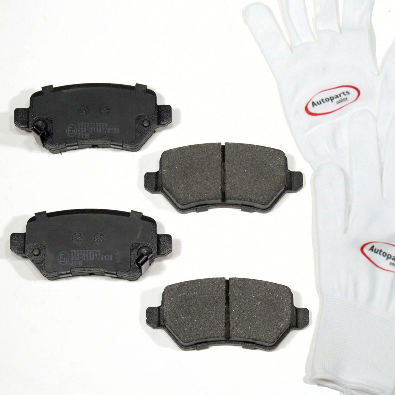 Autoparts-Online Set 60007060 Bremsbelä ge/Bremsklö tze/Bremsen Vorne