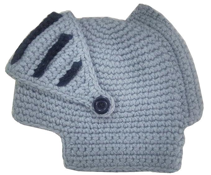 Halloween Role Play Knit Hat Knight Helmet Viking Horned Helmet