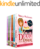 A Murder In Milburn, The Complete 6 Book Series: A Culinary Cozy Mystery Box Set With Recipes