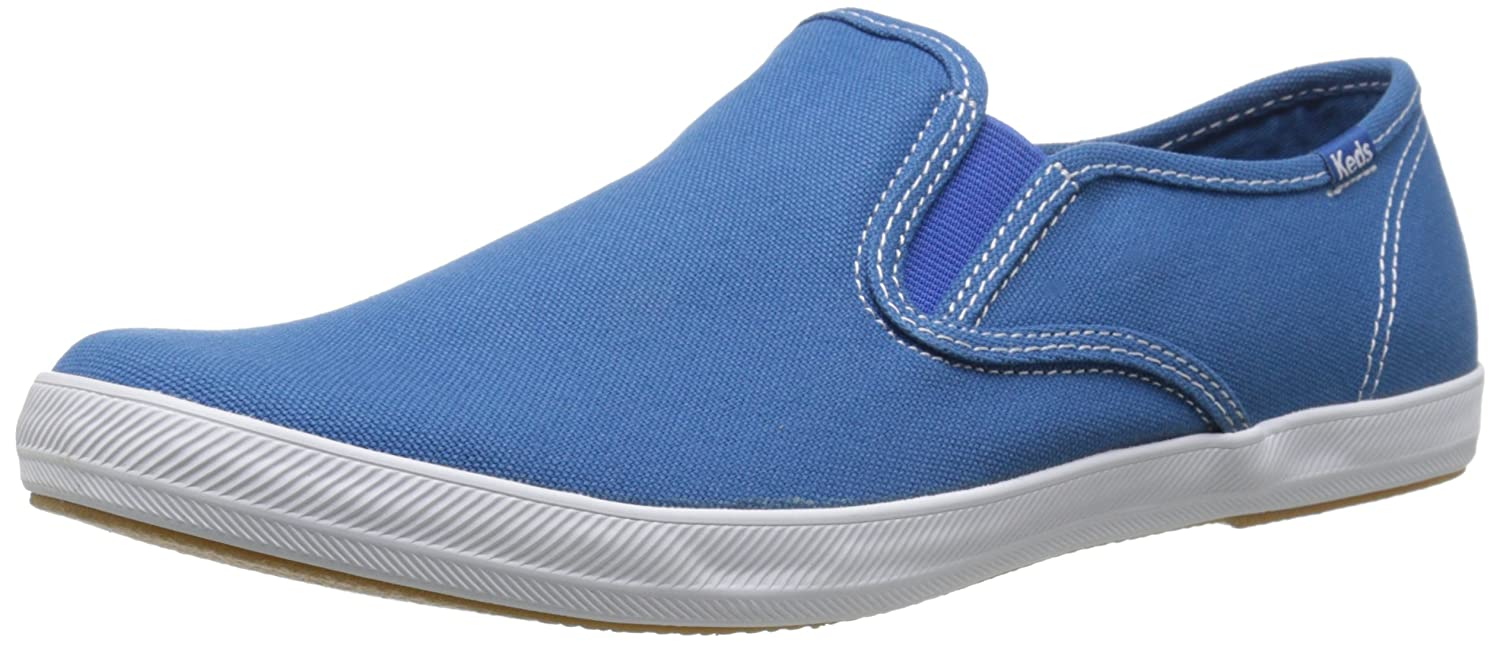 6ecb0a53f Keds Champion Slip On Canvas Men US 12 Blue Athletic Sneakers   Amazon.co.uk  Shoes   Bags