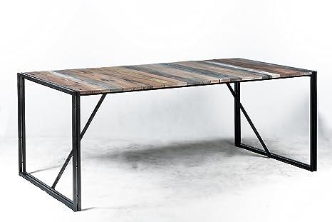 Tavolo In Legno Smontabile.Tavolo Diner Sistema Smontabile 200 X 100 X 78 Stile