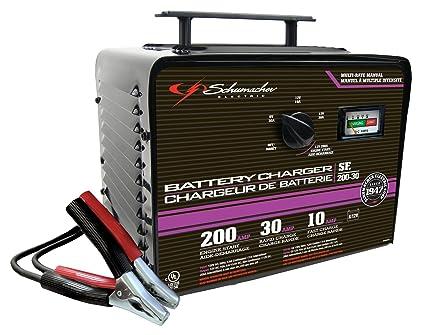 Amazon Com Schumacher Sf 200 30 6 12v Manual Bench Top Battery