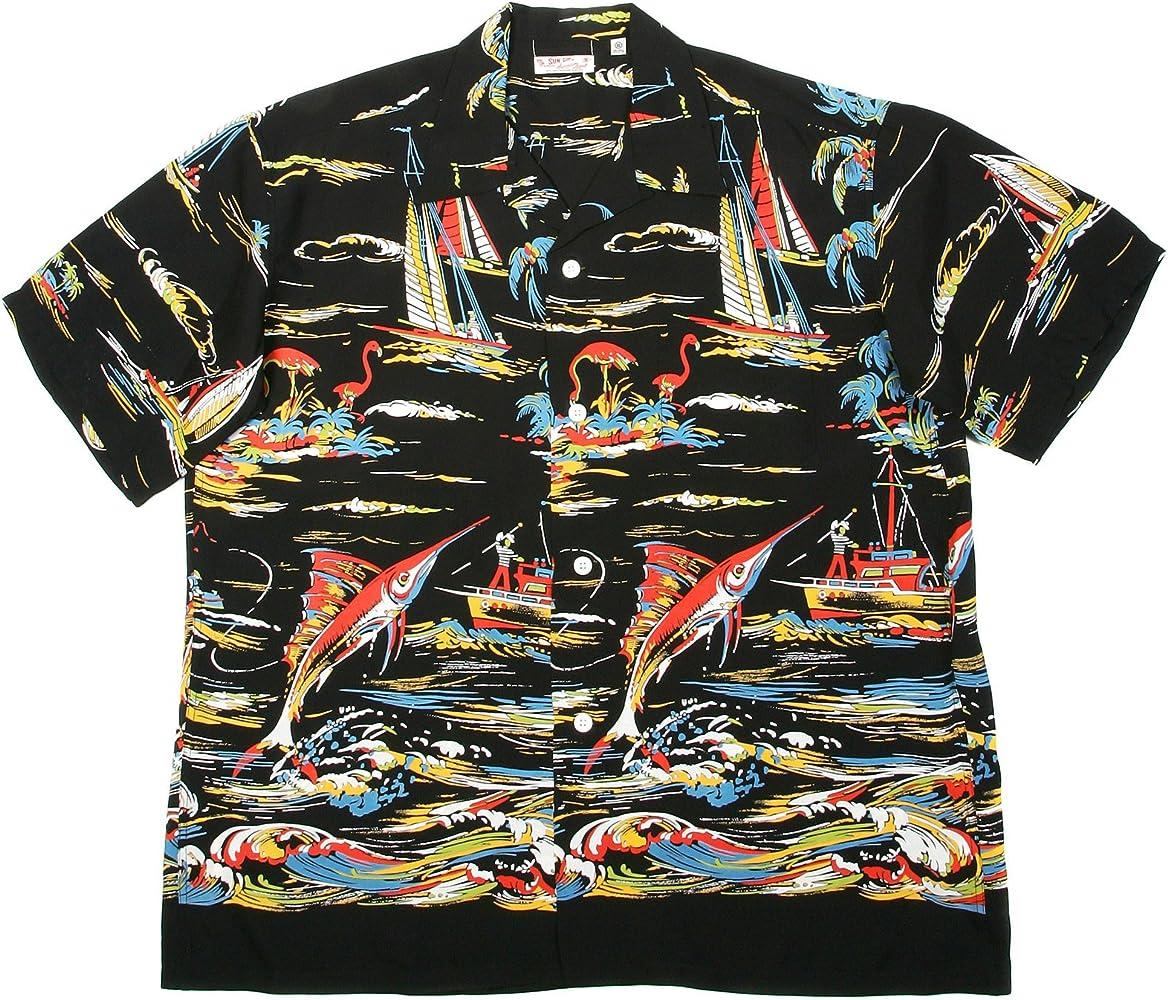 Sun Hawaianas o de Patrones de Costura para Camisas Surf SS33322 Hawaianas o de diseño de Barca en el-de Manga Corta de Mujer de Pesca: Amazon.es: Ropa y accesorios