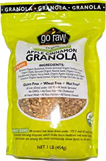 product image for Go Raw, Organic Granola, Apple Cinnamon, 1 lb