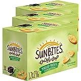 Sunbites Olive & Oregano Bread Bites 23gm x 12 Pack of 3
