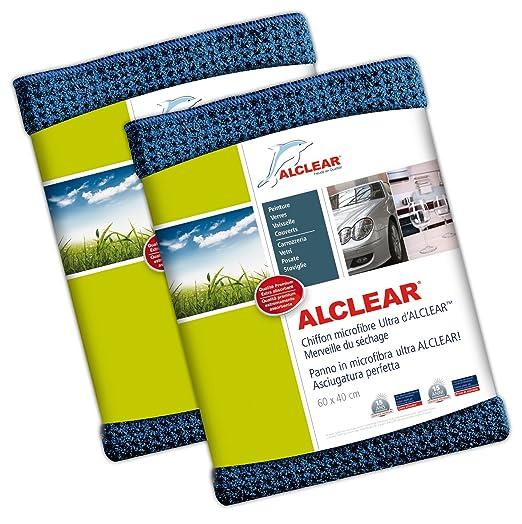 233 opinioni per ALCLEAR 820901 Panno in Microfibra, Asciugatura perfetta, Dimensioni: 60 x 40