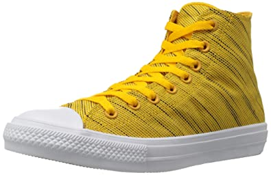 Converse Unisex-Erwachsene Chuck Taylor All Star Ii High Top, Gelb, 37 EU