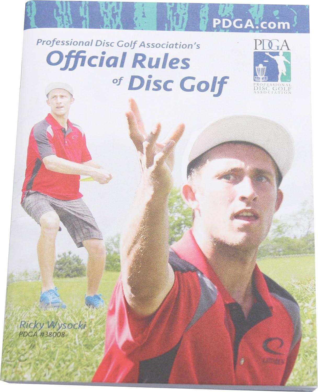 公式PDGA Rulebook Rule Book マルチ B001KWCQDQ