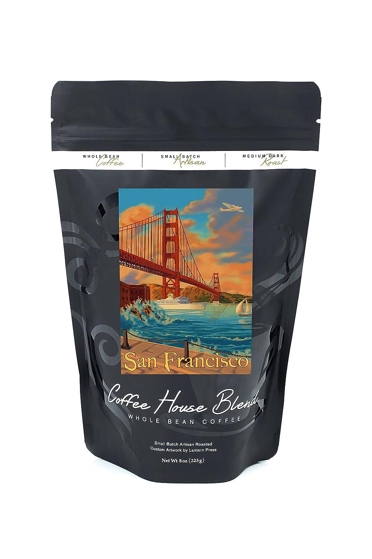 ゴールデンゲートSan Francisco B074RZR6Z7 8oz Coffee Bag8oz Coffee Bag