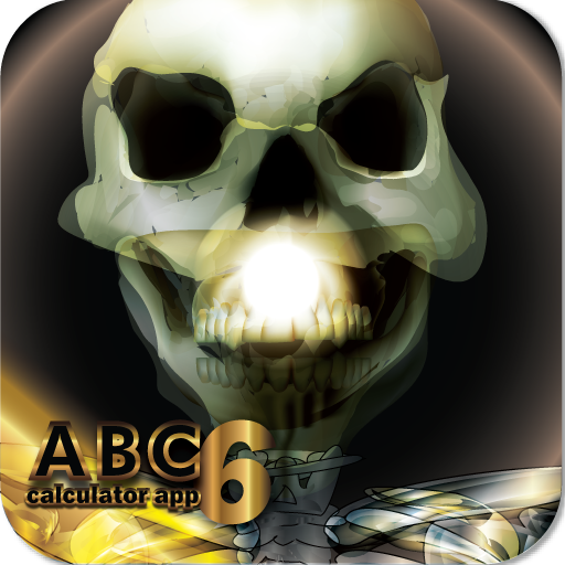 SkullCalc HD+ My First Cute Talking Skull Calculator - Halloween Gift Idea (KINDLE Fire HD -