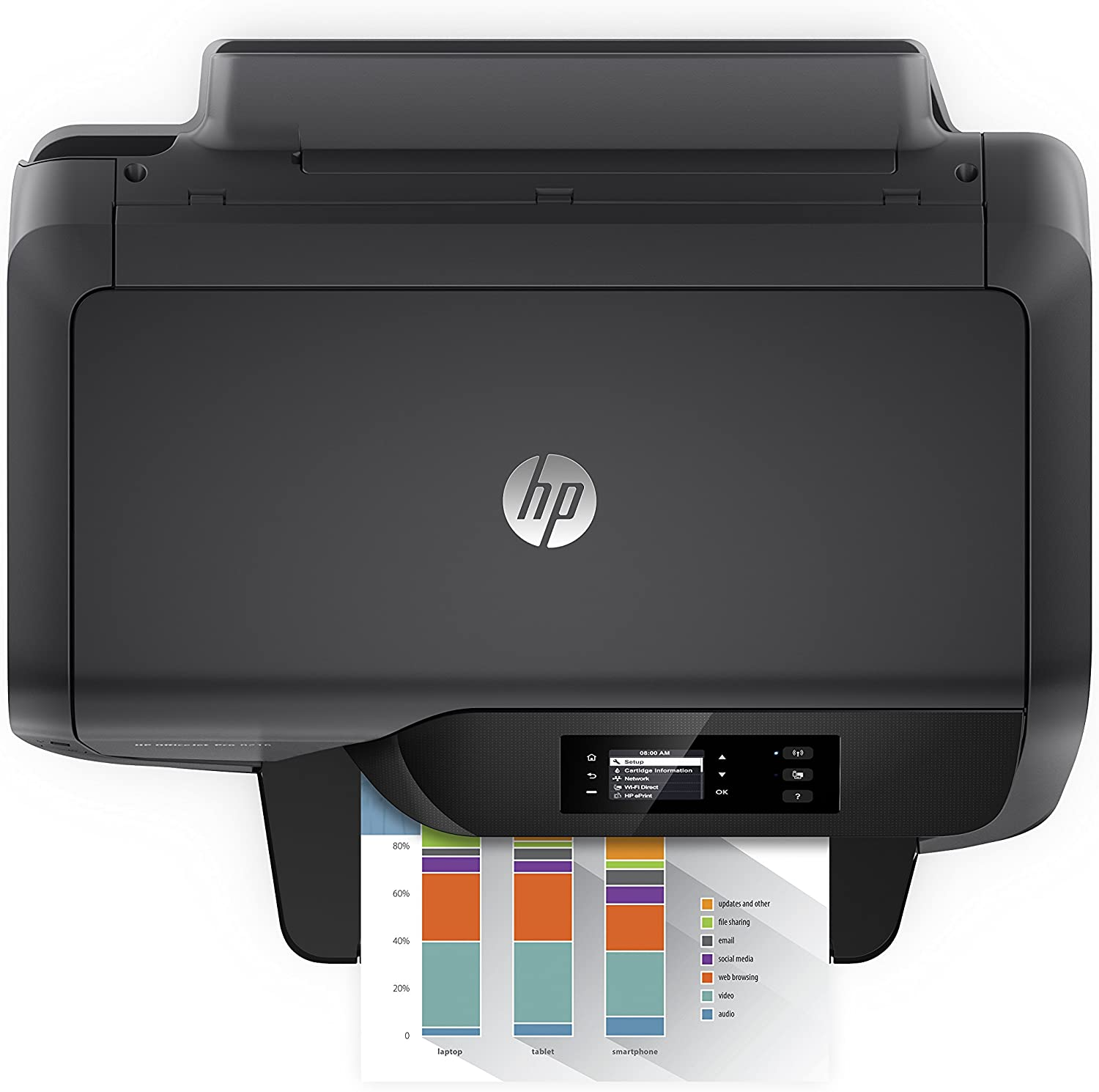 HP OfficeJet Pro 8216 Wireless Professional-Quality Color Printer with Mobile Printing, Instant Ink ready