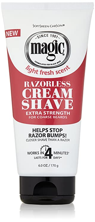 Amazon Com Razorless Shaving Cream For Men By Softsheen Carson