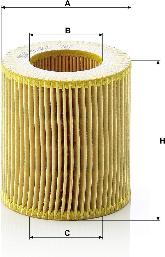 Per Set di Guarnizioni HU 816 X Originale MANN-FILTER Filtro Olio con Guarnizione