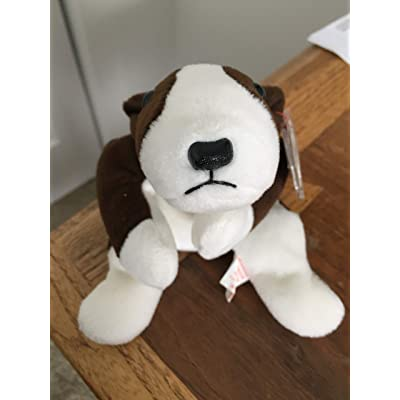 Ty Beanie Babies Bruno The Dog: Toys & Games