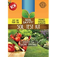 Soil Savvy - Soil Test Kit | Understand What Your Lawn or Garden Soil Needs, Not Sure What Fertilizer to Apply | Analysis Provides Complete Nutrient Analysis & Fertilizer Recommendation On Report