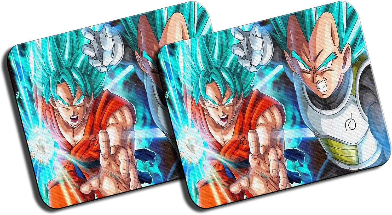 PACK 2 Goku Vegeta SSJ GOD COMBAT BROLY Pc gamer: Amazon.es ...