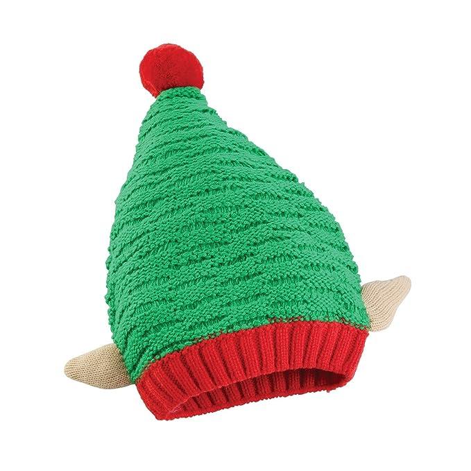 Cappello natalizio a maglia (Taglia Unica) (Elfo)  Amazon.it  Abbigliamento f246b22b0ba4