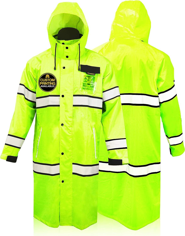 Viking Mens Journeyman Industrial Oil Resistant Jacket Green XXL Green